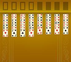 Freecell mahjong