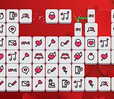 Valentine mahjong